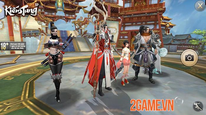 Kiếm Tung 3D - Dự án game nhập vai võ hiệp mới của SohaGame 0