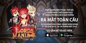 Game chiến thuật thả quân Lords Mania ra mắt toàn cầu có hỗ trợ cả tiếng Việt