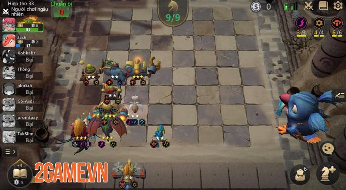 Một số mẹo đơn giản để giành chiến thắng trong Auto Chess VN 2