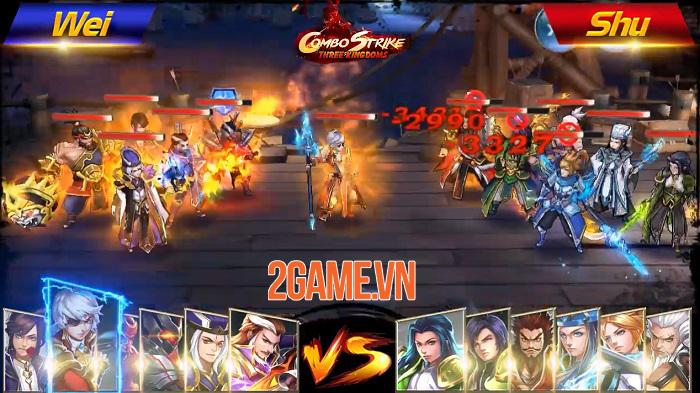 Combo Strike: Three Kingdoms - Game thẻ tướng Tam Quốc có hệ thống combo độc lạ 0