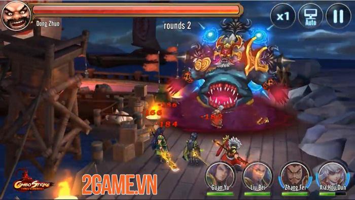 Combo Strike: Three Kingdoms - Game thẻ tướng Tam Quốc có hệ thống combo độc lạ 1