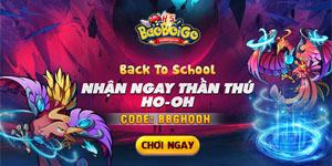 Bảo Bối GO H5 tung chuỗi sự kiện Back To School mừng game thủ đón năm học mới