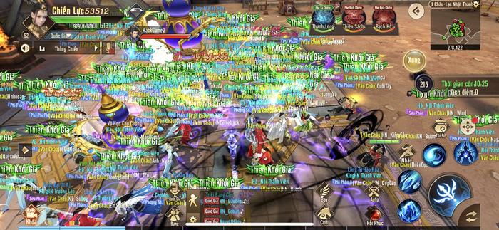 Game thủ Thiên Kiếm Mobile được độc quyền trải nghiệm Chiến trường vạn người huyền thoại 1