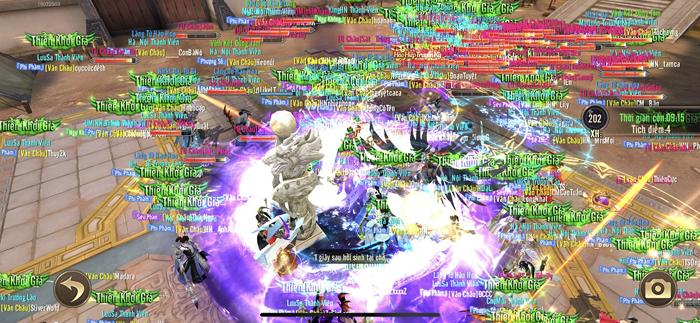 Game thủ Thiên Kiếm Mobile được độc quyền trải nghiệm Chiến trường vạn người huyền thoại 2