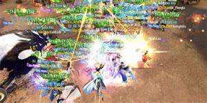 Game thủ Thiên Kiếm Mobile được độc quyền trải nghiệm Chiến trường vạn người huyền thoại