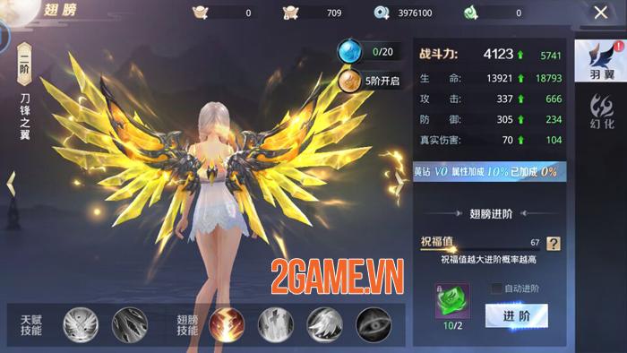 Tinh Vân Kiếm Mobile: Tất cả tính năng bồi dưỡng đều giúp nhân vật thay hình đổi dạng 6