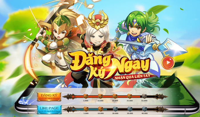 DzoGame ấn định ngày mở cửa TS Online Mobile chính chủ tại Việt Nam 0