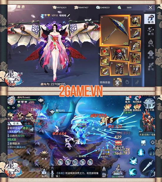 Tinh Vân Kiếm Mobile sở hữu hơn 40 tính năng bồi dưỡng, phát triển nhân vật 3