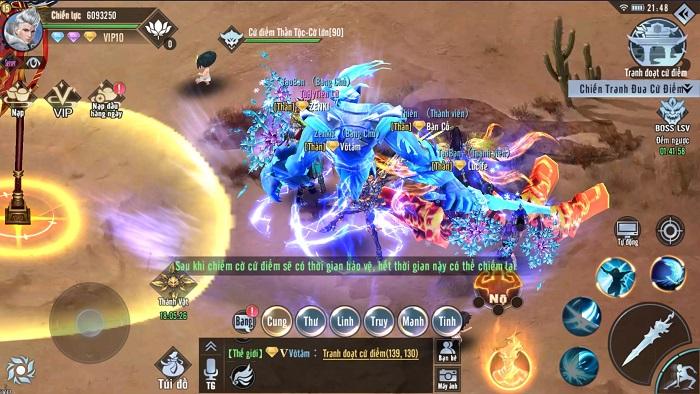 Tinh Vân Kiếm Mobile: Tất cả tính năng bồi dưỡng đều giúp nhân vật thay hình đổi dạng 2