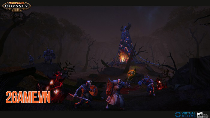 Warhammer: Odyssey - MMORPG lấy bối cảnh huyền ảo kết hợp viễn tưởng 1