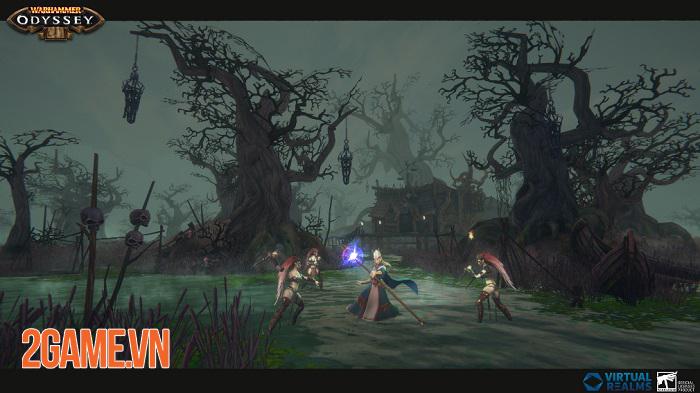 Warhammer: Odyssey - MMORPG lấy bối cảnh huyền ảo kết hợp viễn tưởng 2