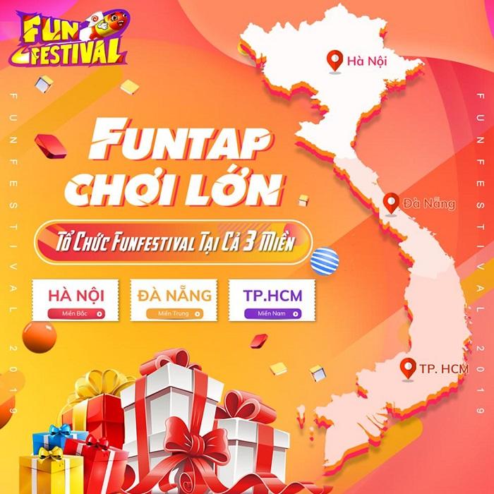 Ngày hội game thủ Fun Festival 2019 hứa hẹn
