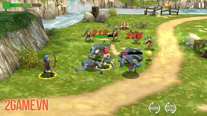 Soul Seeker R - Game nhập vai tổ đội chiến đầy chất sáng tạo trong lối chơi 3