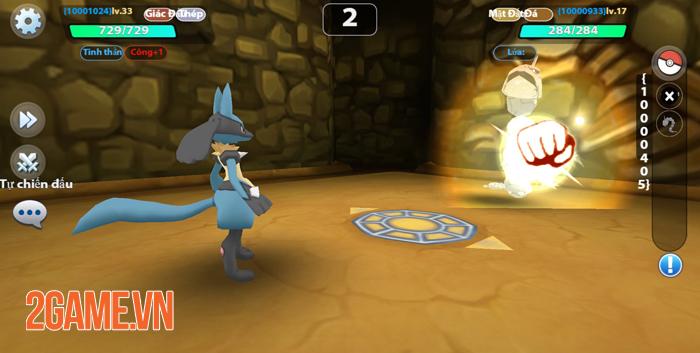 Poke Origin mang đến nội dung quen thuộc, chất chơi Pokemon nguyên bản 5