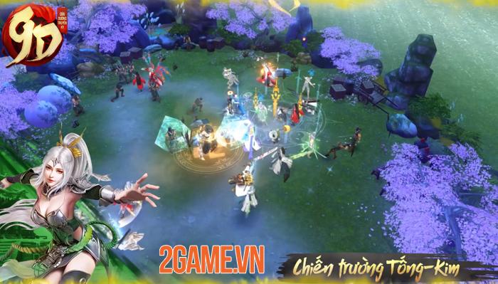 Game kiếm hiệp Cửu Dương Truyền Kỳ dự có 10 môn phái vừa công bố ngày mở game 3