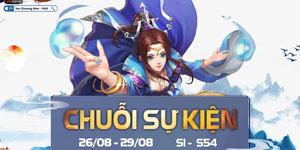 Tân Chưởng Môn VNG ra mắt tuần lễ sự kiện hấp dẫn mừng 2/9