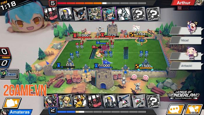 League of Wonderland - Game chiến thuật thẻ bài lấy cảm hứng từ chuyện cổ tích 1