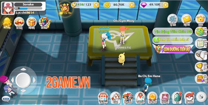 Poke Origin mang đến nội dung quen thuộc, chất chơi Pokemon nguyên bản 0