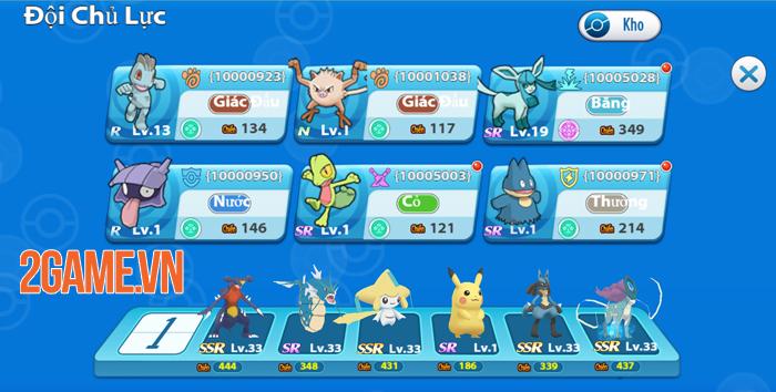 Poke Origin mang đến nội dung quen thuộc, chất chơi Pokemon nguyên bản 3