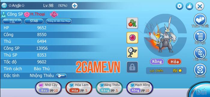 Poke Origin mang đến nội dung quen thuộc, chất chơi Pokemon nguyên bản 2