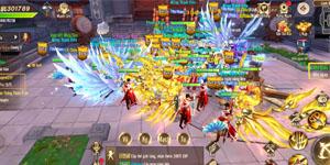 Hoạt động Bang hội trong Thiên Kiếm Mobile giúp người chơi gắn kết chặt chẽ