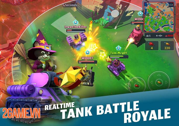 PvPets - Game bắn Tank mang phong cách Battle Royale độc đáo 1