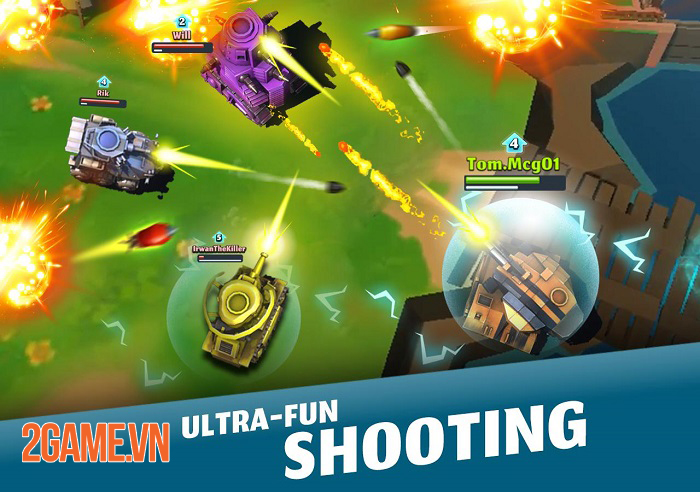 PvPets - Game bắn Tank mang phong cách Battle Royale độc đáo 0