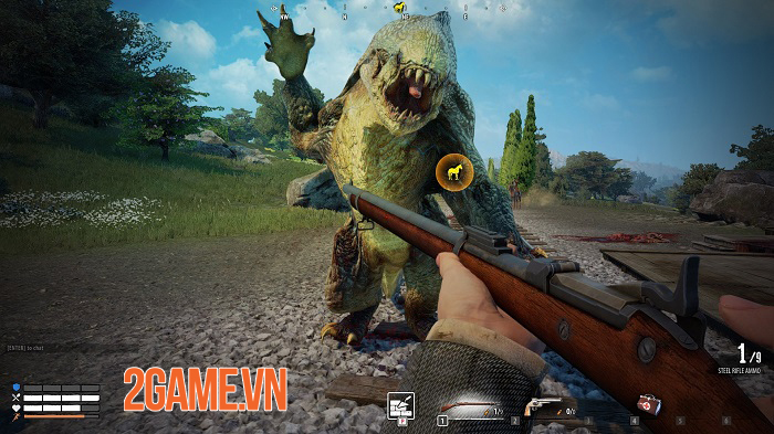 New Frontier chính là bản relaunch của game sinh tồn Wild West Online 1