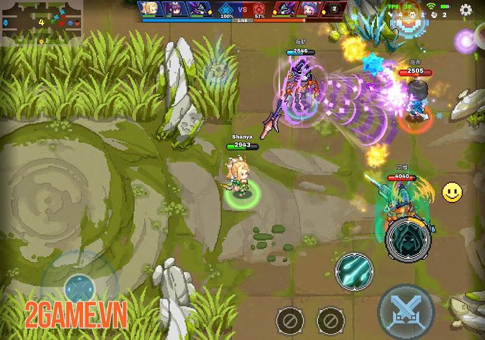Force of Guardians - Game MOBA sở hữu đồ họa pixel độc đáo 2