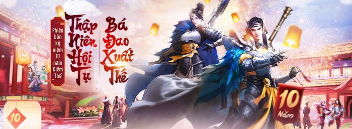 Kiếm Thế ra mắt môn phái mới Bá Đao nhân kỉ niệm 10 năm ra mắt tại Việt Nam 3
