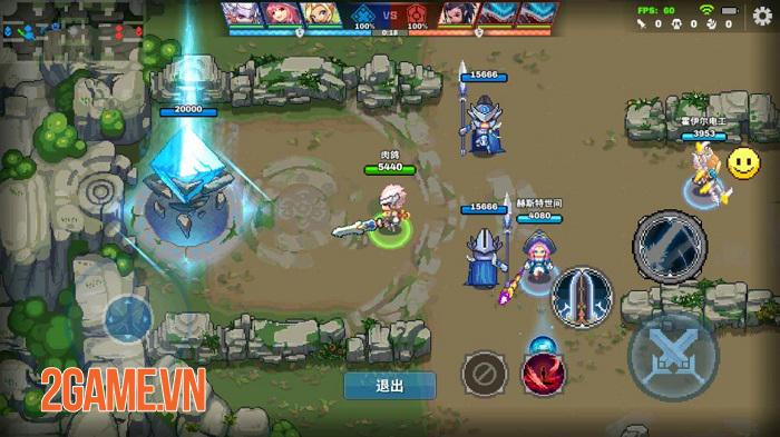 Force of Guardians - Game MOBA sở hữu đồ họa pixel độc đáo 0