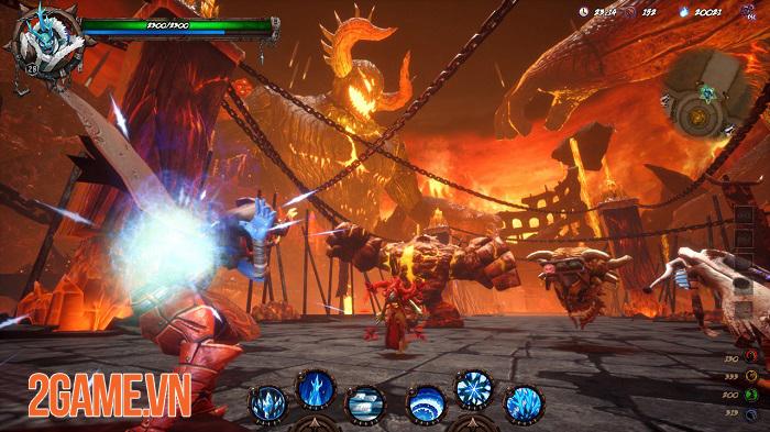 DemonsAreCrazy - Game MOBA lấy bối cảnh viễn tưởng nơi địa ngục 1