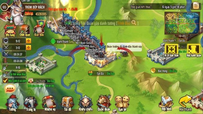 Tam Quốc GO chính thức khởi tranh Quốc Chiến liên server mùa 25 3