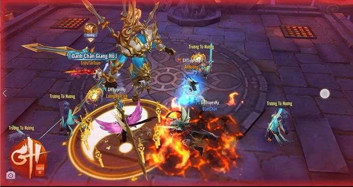 Game thủ GH Truyền Kỳ hào hứng với phiên bản mới Nhất Tiễn Khuynh Thành 5