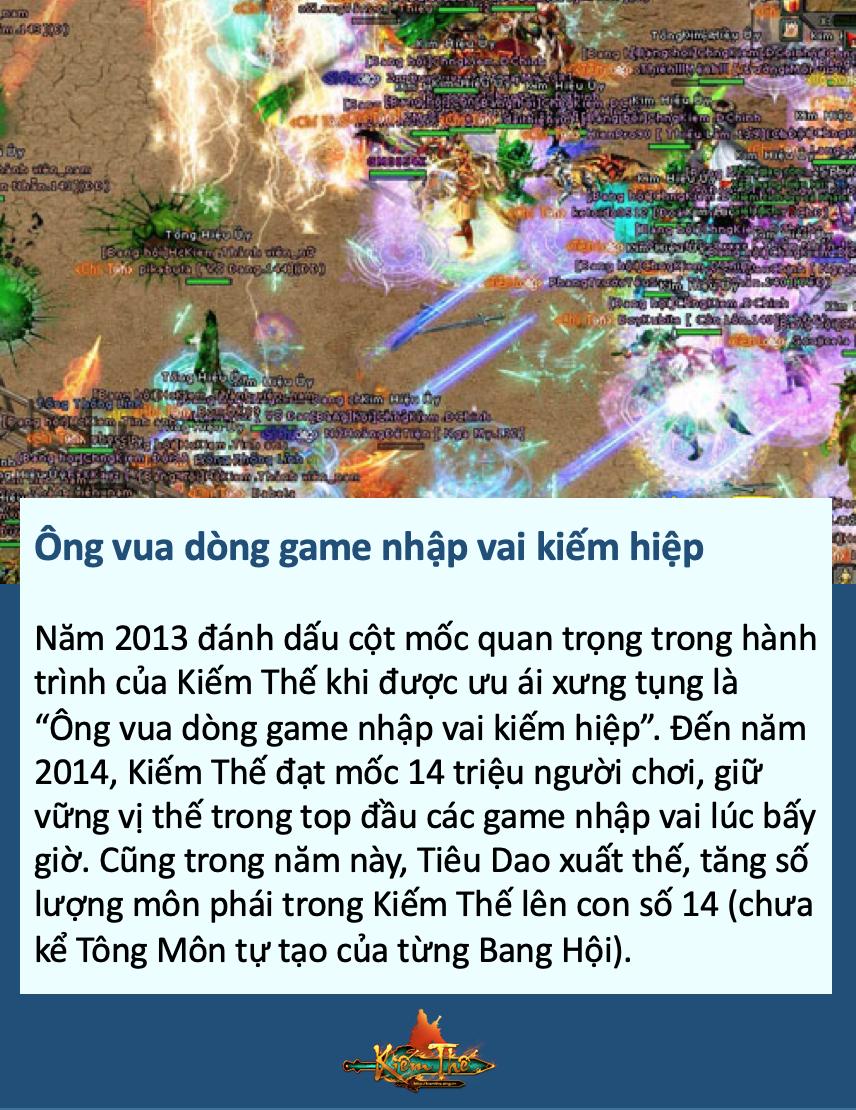 Nhìn lại hành trình Kiếm Thế  tại làng game Việt sau 10 năm phát triển 4