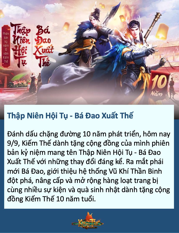 Nhìn lại hành trình Kiếm Thế  tại làng game Việt sau 10 năm phát triển 7