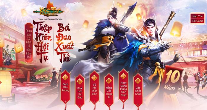 Nhìn lại hành trình Kiếm Thế  tại làng game Việt sau 10 năm phát triển 0