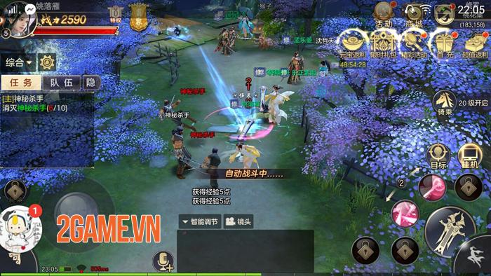 Tiêu Dao Mobile - Game lấy bối cảnh hậu Thiên Long Bát Bộ về Việt Nam 4