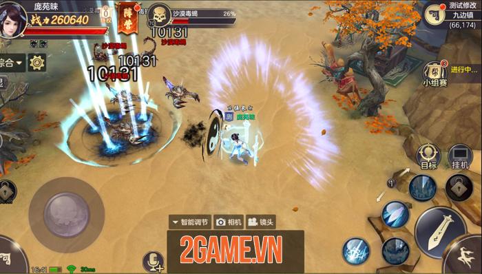 Tiêu Dao Mobile - Game lấy bối cảnh hậu Thiên Long Bát Bộ về Việt Nam 6