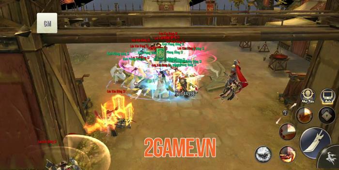 Tiêu Dao Mobile - Game lấy bối cảnh hậu Thiên Long Bát Bộ về Việt Nam 2