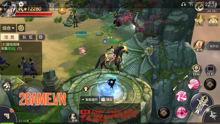 Tiêu Dao Mobile - Game lấy bối cảnh hậu Thiên Long Bát Bộ về Việt Nam 5