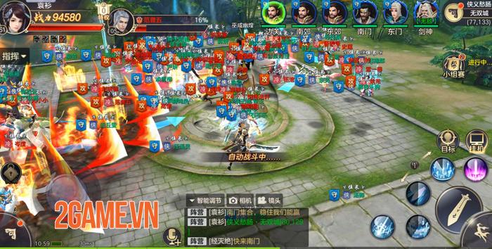 Tiêu Dao Mobile - Game lấy bối cảnh hậu Thiên Long Bát Bộ về Việt Nam 9