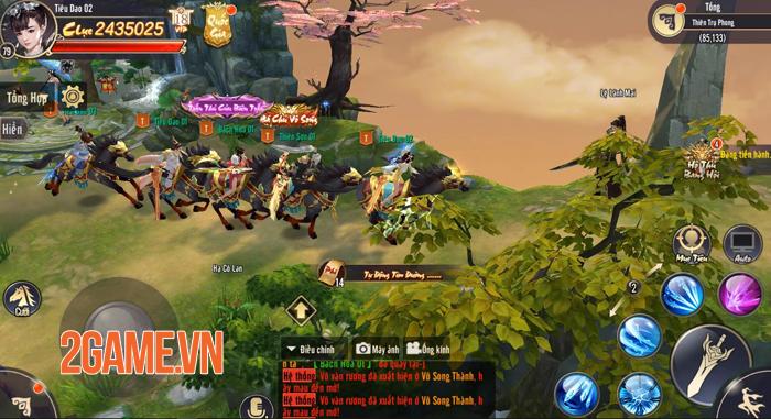 Tiêu Dao Mobile - Game lấy bối cảnh hậu Thiên Long Bát Bộ về Việt Nam 8