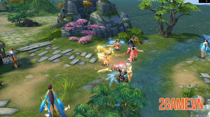 Tiêu Dao Mobile - Game lấy bối cảnh hậu Thiên Long Bát Bộ về Việt Nam 1
