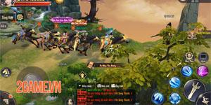 Tiêu Dao Mobile – Game lấy bối cảnh hậu Thiên Long Bát Bộ về Việt Nam