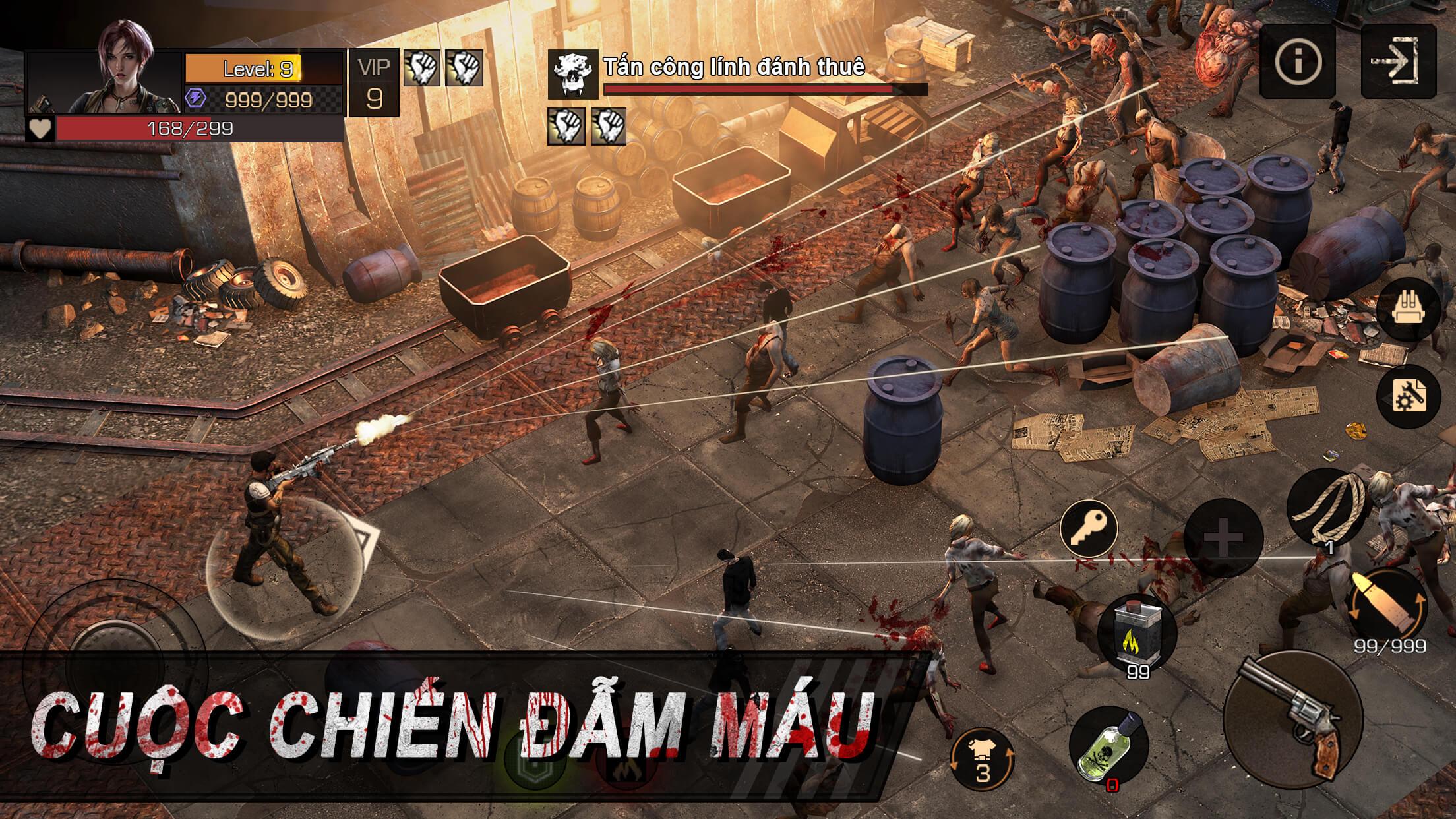 Modern Dead Mobile mang đến cảm giác nhập vai kết thúc mở vô cùng sáng tạo 4