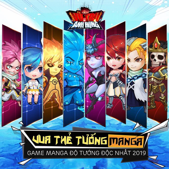 Game đấu thẻ tướng Vũ Trụ Anh Hùng chuẩn bị đến tay game thủ Việt 0