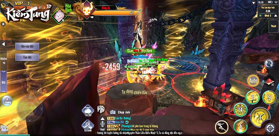 Kiếm Tung 3D chính là sự độc nhất vô nhị trong dòng game kiếm hiệp di động! 6