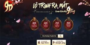 Game kiếm hiệp Cửu Dương Truyền Kỳ dự có 10 môn phái vừa công bố ngày mở game