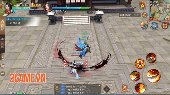 Cửu Kiếm 3D - Siêu phẩm game kiếm hiệp 9 phái của SohaGame lộ diện 6